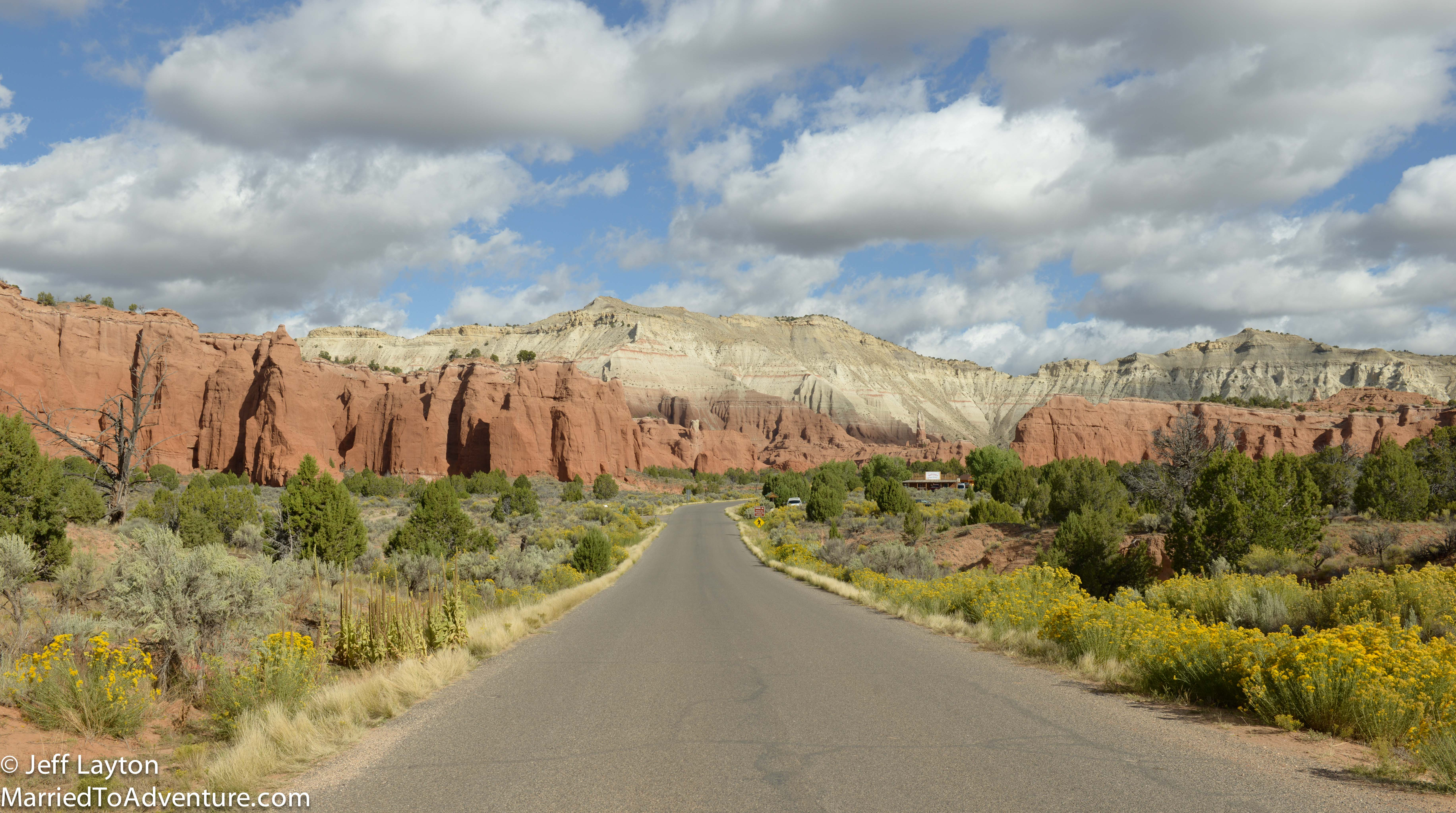 The entrance to Kodachrome Basin SP - one of Jeff's favorite camping places in the SW